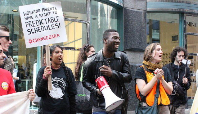 workers at zara fight back